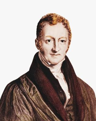 Portrait of Thomas Robert Malthus (1766-1834), Economist | The Study of Economics