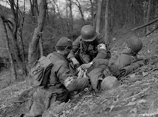Hurtgen Forest: Patching Up   Ken Burns: The War