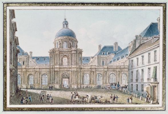 View of the Palais du Senat Conservateur