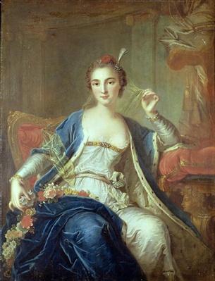 Portrait of Mademoiselle Marie Salle