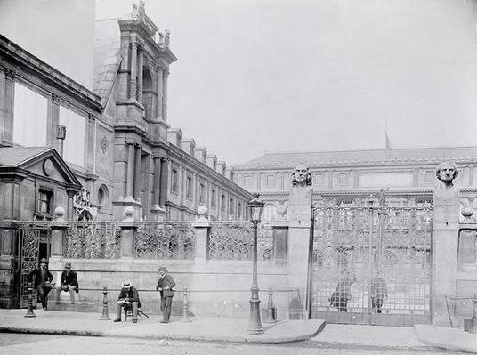 Ecole Nationale Superieure des Beaux-Arts, Rue Bonaparte, Paris, c.1890-1900