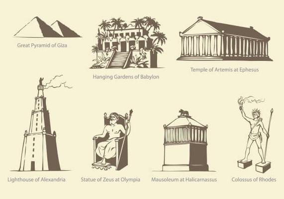 Seven Wonders of Ancient WORLD | Wonders of the World