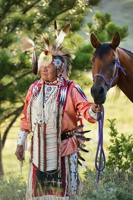 Lakota Indian in the Black Hills, Western South Dakota, USA | Earth's Resources