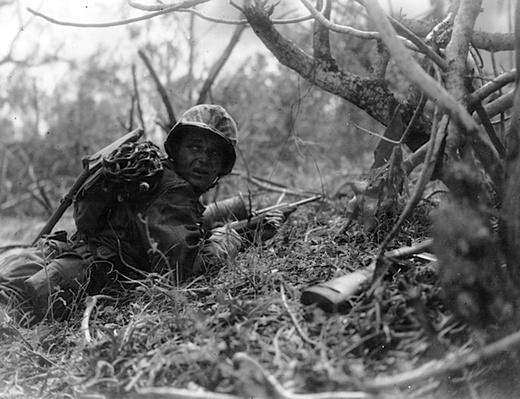 Crawling through the Saipan Brush | Ken Burns: The War