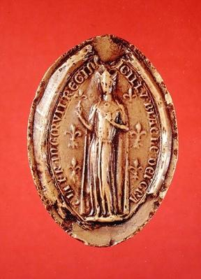 Seal of Blanche de Castille