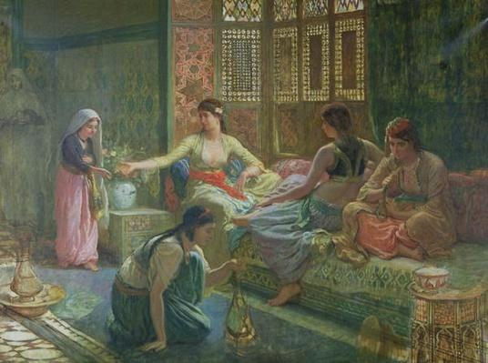 Interior of a Harem, c.1865