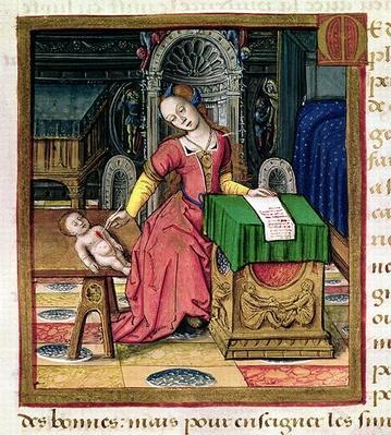 Ms 17 Medea, from 'Vie des Femmes Celebres', c.1505