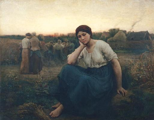 Evening, 1860