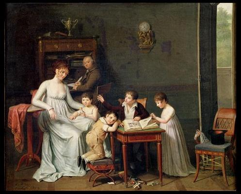 Portrait of a Family, 1800-01