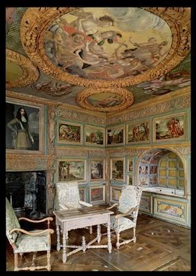 Interior of the 'Salle Louis XIV' or the 'Salle de Bain'