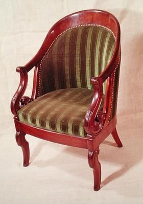 Armchair, Louis-Philippe period