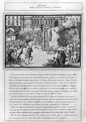 The Execution of Pere Jean Guigard