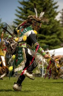 Men's Traditional Dancer 20 | Native American Civilizations | U.S. History