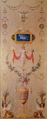 Panel from the boudoir of Marie-Antoinette