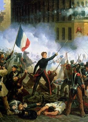 Battle in the Rue de Rohan, 28th July 1830, 1831
