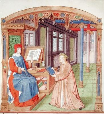 Ms 493 fol.19 Virgil
