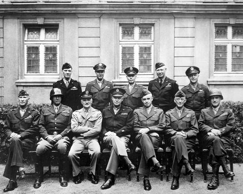 Senior American military commanders of the European Theater | World War II