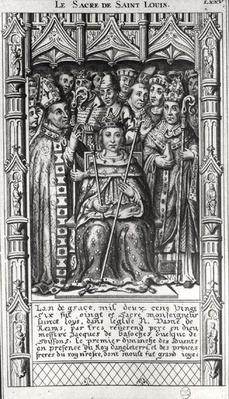 The Consecration of St. Louis in 1226, 16th-17th century