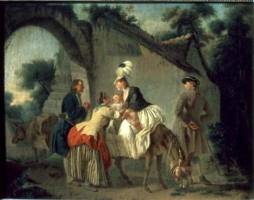 Farewell to the Nursemaid, 1777