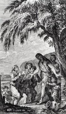Illustration from 'Histoire philosophique et politique des deux Indes' by Abbe Guillaume Raynal
