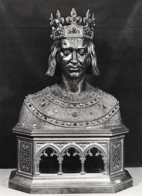 Reliquary bust of St. Louis