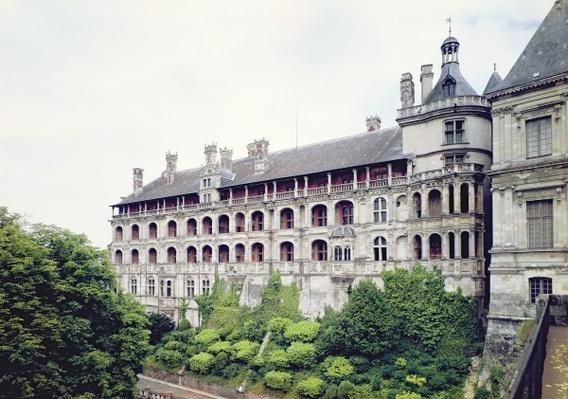 Exterior of the Facade des Loges