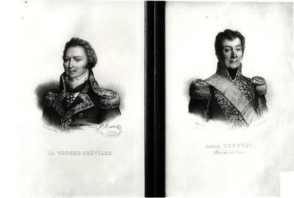 Portraits of Louis Rene Madeleine Le Vassor