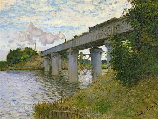 The Railway Bridge at Argenteuil, 1874