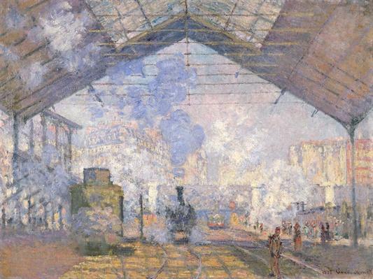The Gare St. Lazare, 1877