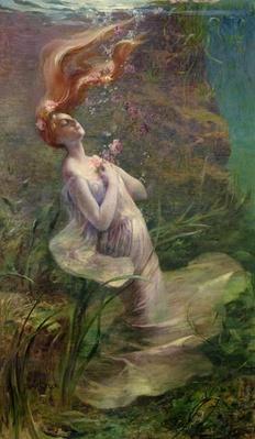 Ophelia Drowning, 1895