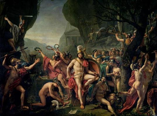 Leonidas at Thermopylae, 480 BC, 1814