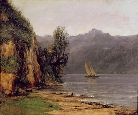 Vue du Lac Leman, c.1873-77