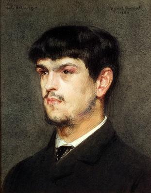 Claude Debussy in Rome, 1884