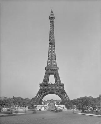 The Eiffel tower, 1887-89