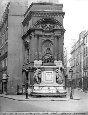 Moliere Fountain, 1844