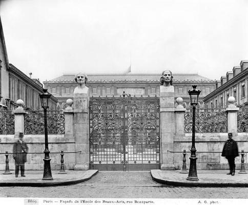 Ecole Nationale Superieure des Beaux-Arts, rue Bonaparte, c.1890-99