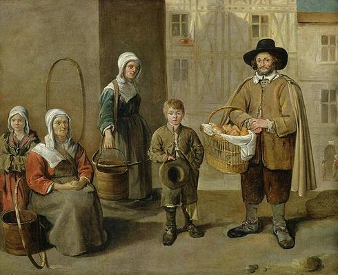 The Bread Seller and Water Carriers