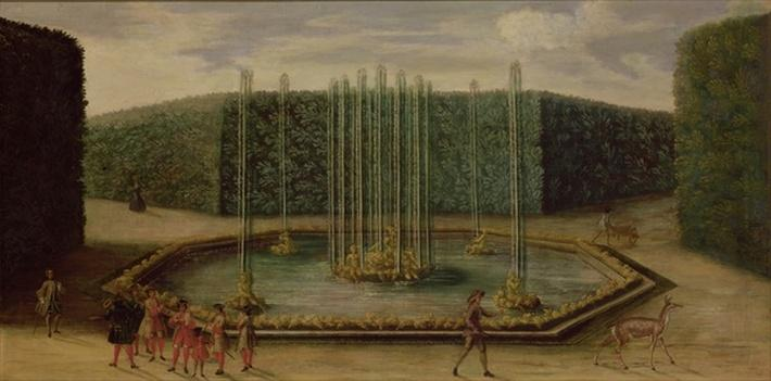 The Fountain of Bacchus at Versailles