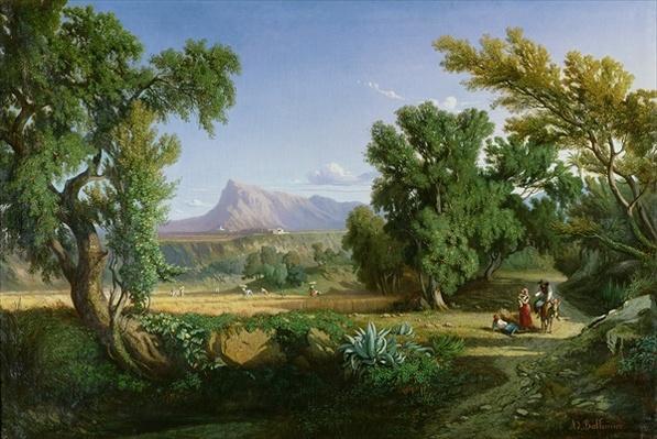 Outskirts of Valdemusa, Majorca, 1847