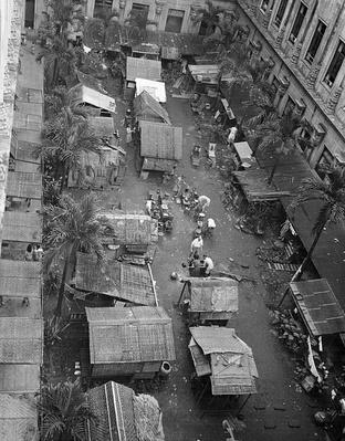 Santo Tomas: Huts in the Interior | Ken Burns: The War