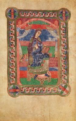 Ms 250 fol.43v St. Radegund