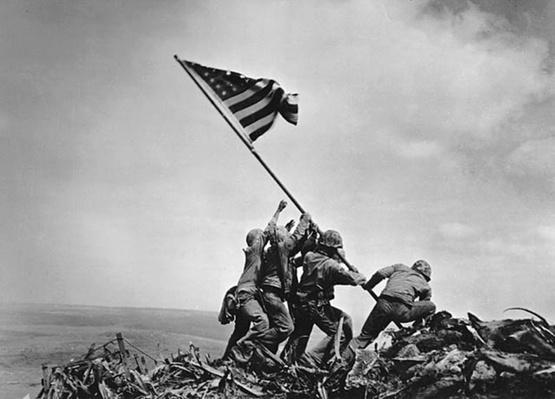 Raising the Flag on Mount Suribachi | Ken Burns: The War
