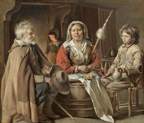 Peasant Interior, c.1645