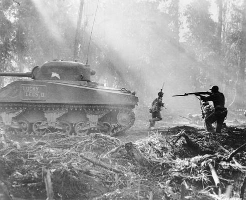 Infantrymen on Bougainville | Ken Burns: The War