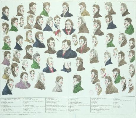 The Conspirators of the Plot to Kidnap and Murder Napoleon Bonaparte