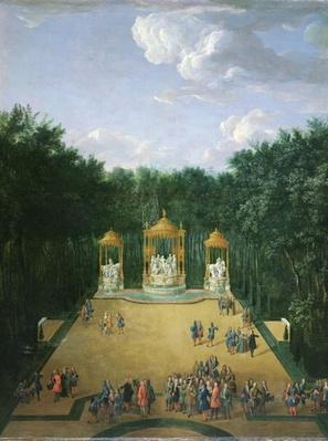 The Groves of the Baths of Apollo in the Gardens of Versailles, 1713