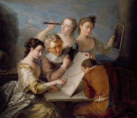 The Sense of Sight, c.1744-47