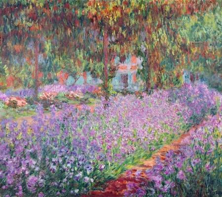 The Artist's Garden at Giverny, 1900