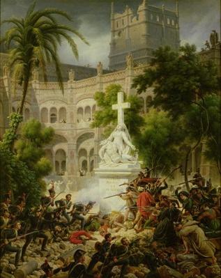 Assault on the Monastery of San Engracio in Zaragoza, 8th February 1809, 1827