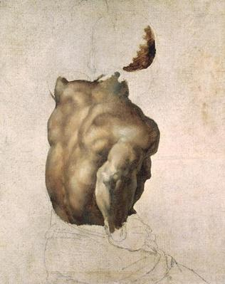 Study of a Torso for The Raft of the Medusa, 1818